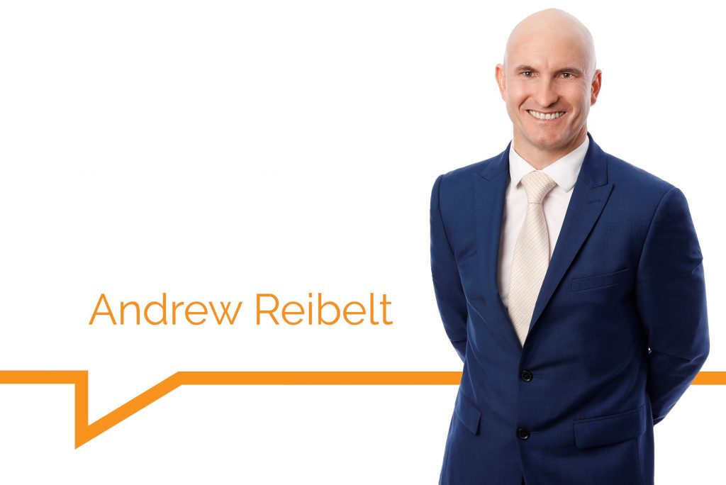 Welcome to the team, Andrew Reibelt